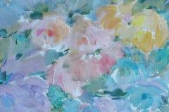 背景花卉模式 图库摄影