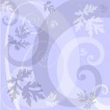 背景花卉淡紫色 向量例证