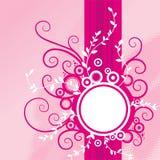 背景花卉粉红色