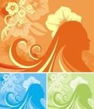 背景花卉系列 免版税图库摄影