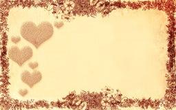 背景花卉老纸样式纹理 免版税库存照片