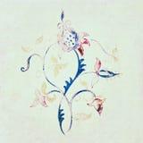 背景花卉设计要素 免版税图库摄影