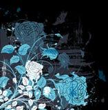 背景花卉grunge 图库摄影