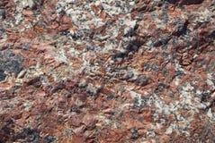 背景花岗岩石头 库存照片