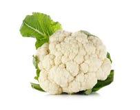 背景花椰菜查出的白色 图库摄影