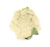 背景花椰菜查出的白色 库存图片