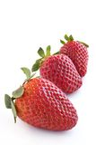 背景草莓 库存图片