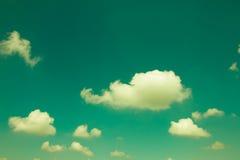 背景草绿色本质老纸天空纹理葡萄酒 免版税库存图片