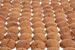 背景荷兰语姜螺母甜点 免版税库存图片