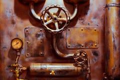 背景葡萄酒steampunk 库存照片
