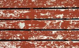 背景董事会上木做的红色的纹理二 免版税图库摄影