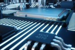背景董事会可能巡回使用 背景二进制代码地球电话行星技术 中央计算机处理器CPU概念 主板数字式芯片 技术科学 向量例证