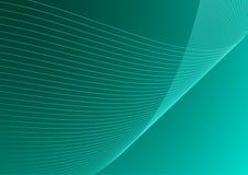 背景蓝绿色向量 免版税库存照片