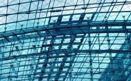 背景蓝绿色工程 图库摄影