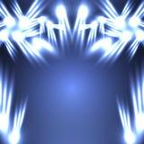 背景蓝色例证氖向量 免版税库存图片