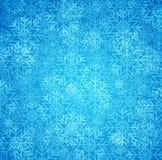 背景蓝色冬天 库存例证