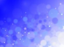 背景蓝色圈子 免版税图库摄影