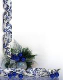 背景蓝色圣诞节光明节 皇族释放例证