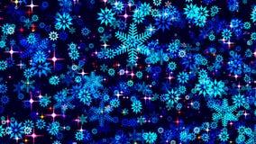 背景蓝色圣诞节黑暗 图库摄影