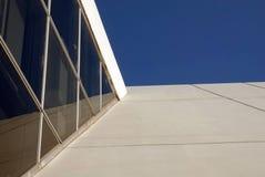 背景蓝色大厦详细资料天空 库存照片