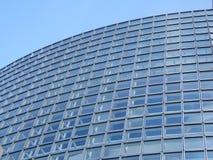 背景蓝色大厦 免版税库存照片