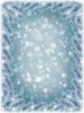 背景蓝色新年度 图库摄影