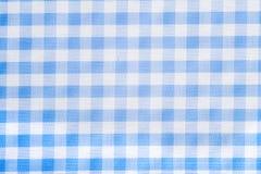 背景蓝色方格花布光 免版税库存图片