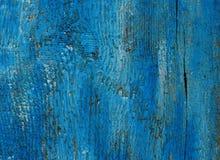 背景蓝色木 免版税库存图片
