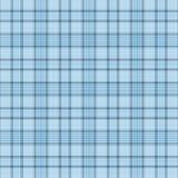 背景蓝色格子花呢披肩 免版税图库摄影