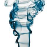 背景蓝色烟白色 库存照片