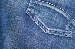 背景蓝色牛仔裤 免版税库存照片