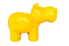 背景蓝色狗玩具白色 免版税库存照片