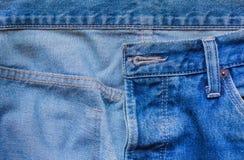 背景蓝色衣物denims牛仔裤纹理 免版税图库摄影