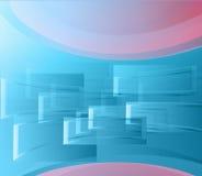 背景蓝色视窗 免版税图库摄影