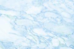 背景蓝色高大理石res纹理 免版税库存照片