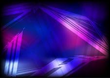 背景蓝色黑暗的紫色 向量例证