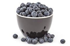 背景蓝莓食物新鲜有机 免版税库存照片