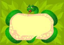 背景蛇 免版税库存照片