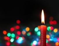 背景蜡烛黑暗 免版税库存图片