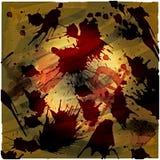 背景血淋淋的grunge 免版税库存照片