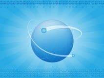 背景行星 免版税库存照片