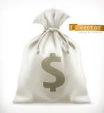 背景袋子图象grunge图象货币向量 适应图标 皇族释放例证