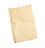 背景袋子棉花查出的白色 库存照片