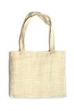 背景袋子织品白色 免版税库存图片