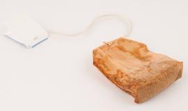 背景袋子茶使用的白色 免版税库存图片