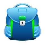 背景袋子蓝色飞行离开槭树学校 免版税库存图片