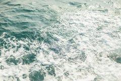 背景被射击水色海水表面 免版税图库摄影