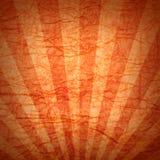 背景被弄皱的橙色纸张 免版税图库摄影