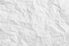 背景被弄皱的水平的纸张 免版税库存照片
