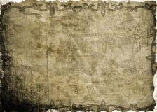 背景被弄皱的纸张 图库摄影